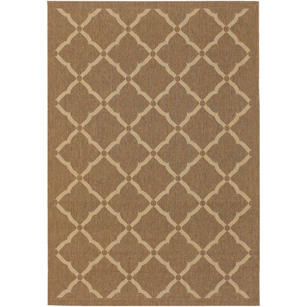 Five Seasons Sorrento Gold/ Cream Rug (5'3 S 7'6)