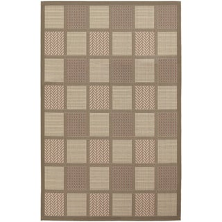 Five Seasons Acadia/ Coral Red Area Rug (8'6 x 13')