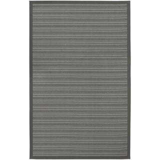 Five Seasons Baja Coast/ Grey Area Rug (3'7 x 5'5)