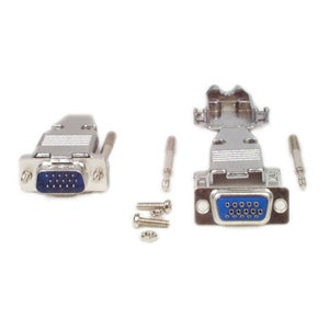 StarTech.com Assembled HD15 Male Solder D-SUB Connector with Metal Ba