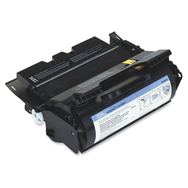 InfoPrint Solutions Return Program Black Toner Cartridge