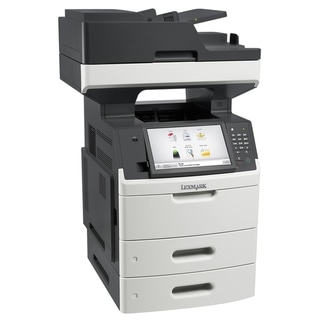 Lexmark MX711DTHE Laser Multifunction Printer - Monochrome - Plain Pa