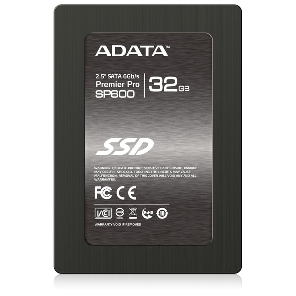 "Adata Premier Pro SP600S3 32 GB 2.5"" Internal Solid State Drive"
