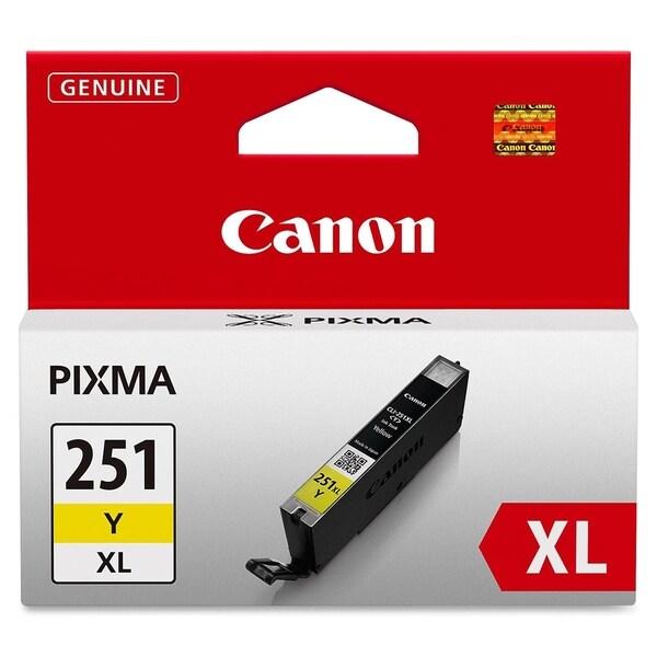 Canon CLI-251XLY Ink Cartridge - Yellow