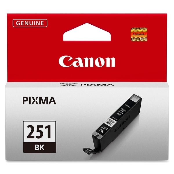 Canon CLI-251BK Ink Cartridge - Black