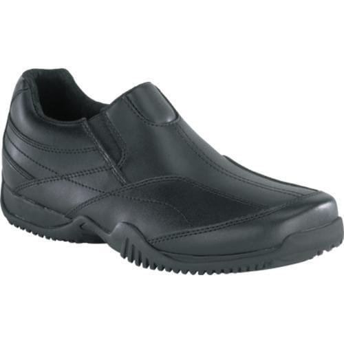 Men's Grabbers Conveyor Slip On Black Leather