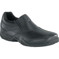 Men's Grabbers Conveyor Slip On Black Leather