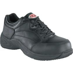 Men's Iron Age Allgood Classic Athletic Oxford Black Leather