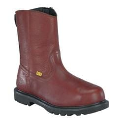 Men's Iron Age Hauler 10in Wellington Flex-Met Internal Met Brown Leather