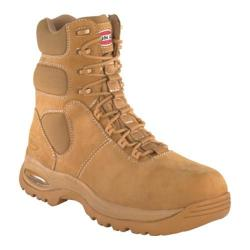 Men's Iron Age Heated 8in Waterproof Insulated Sport Boot Wheat Nubuck