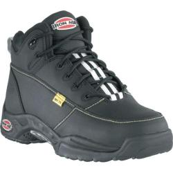 Men's Iron Age High Impact Black Tec-Tuff Leather