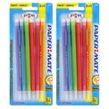 Paper Mate Sharpwriter Assorted Glitter Barrel 0.7-mm Mechanical Pencils (Pack of 12)