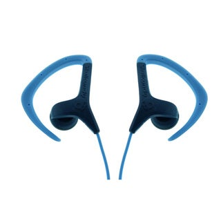 Skullcandy Chops Navy/ Light Blue Earbuds