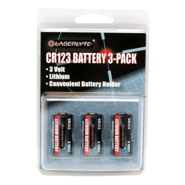 LaserLyte 3-volt Batteries (Pack of 3)