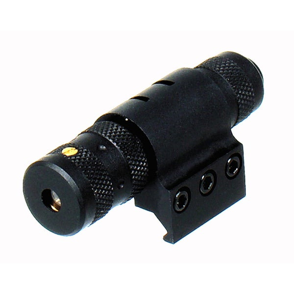 Leapers Combat Tactical Adjustable Red Laser Sight With Weaver Ring
