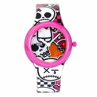 WIT? What Is That? Kids' Skull/ Cat Design Watch