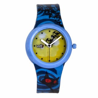 WIT? What Is That? Children's Mystery Yellow/ Blue Watch