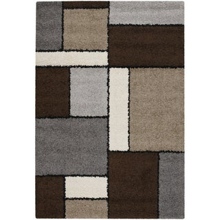 Moonwalk Stonewall Chocolate Rug (7'10 x 10'10)