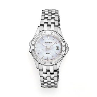 Seiko 'Le Grand Sport' Mother of Pearl Dial Watch