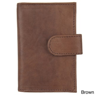 Boston Traveler Men's Snap-closure Credit Card Wallet