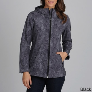 Nuage Women's 'Annecy' Abstract Print Zip-up Jacket
