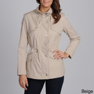 Nuage Women's 'Valencia' Stand Collar Zip-up Jacket
