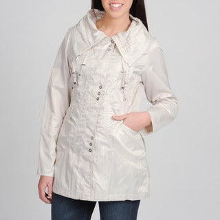 Nuage Women's Spread Collar Trivia Jacket