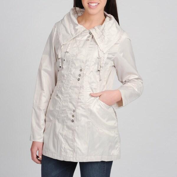 Nuage Women's Spread Collar Trivia Jacket