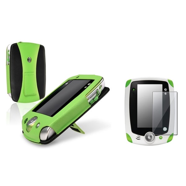 INSTEN Green Phone Case Cover/ Screen Protector for LeapFrog LeapPad 2