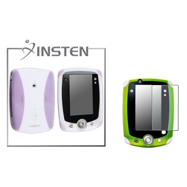 INSTEN Purple Phone Case Cover/ Screen Protector for LeapFrog LeapPad 2