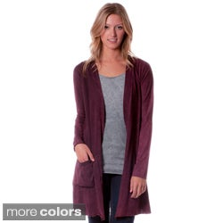 AtoZ Women's Antique Washed Cotton Cardigan