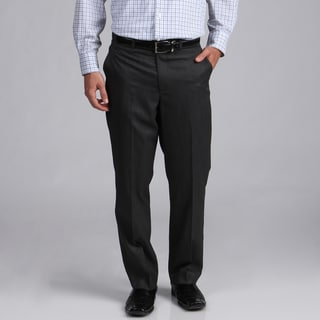 Oxford Republic Black Flat-front Suit Separate Pants