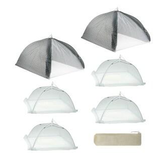 Mr. BBQ Cabana Style 7-piece Food Tent Kit