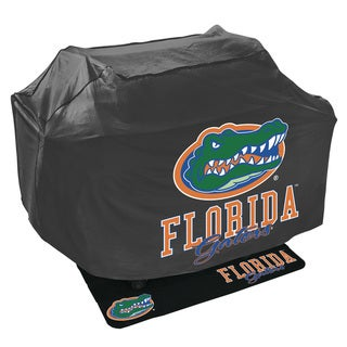 Mr. Bar-b-q NCAA Grill Cover and Mat Set