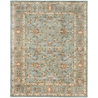 Handmade Heritage Nir Blue Wool Rug (11' x 15')