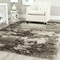 Silken Sable Brown Shag Rug (11' x 15')