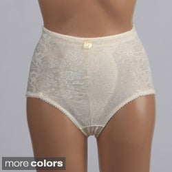 Stanzino Women's Flower Detailed High-waist Control Briefs