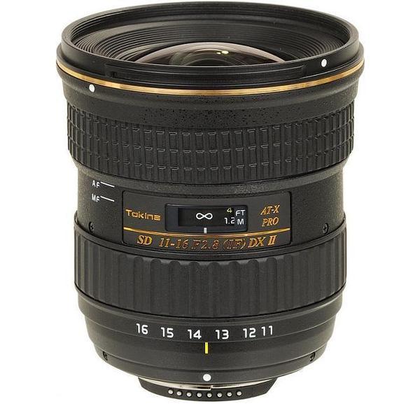 Tokina AT-X 116 PRO DX-II 11-16mm f/2.8 Lens for Nikon Mount