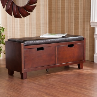 Upton Home Murphy Two Drawer Storage Bench