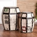 Upton Home Paris Storage Drum Set