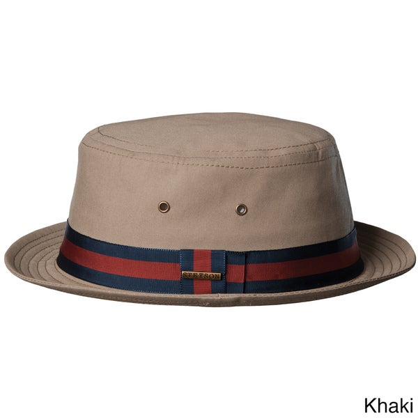 Stetson Men's Water Repellent Bucket Hat