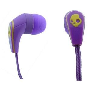Skullcandy 50/50 Purple Earbuds w/ Mic 3