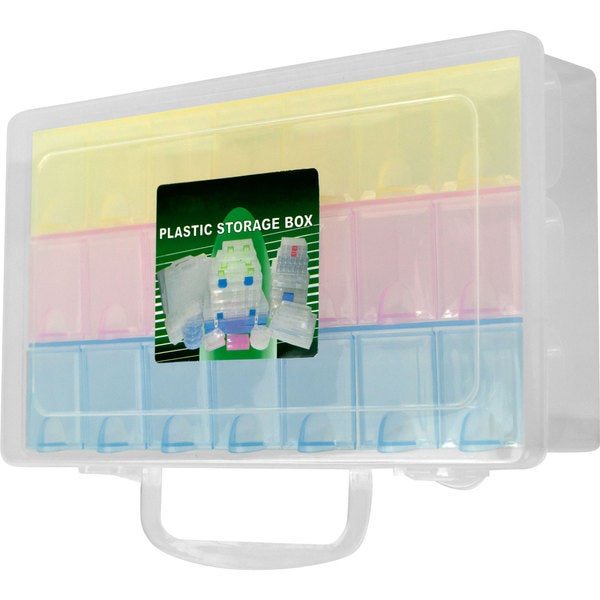 Stalwart Multi-color 22-compartment Storage Box