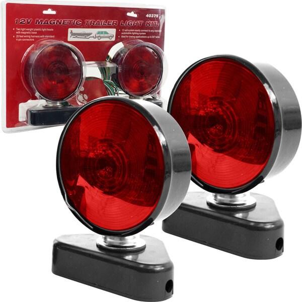 Stalwart 12-volt Magnetic Trailer Light