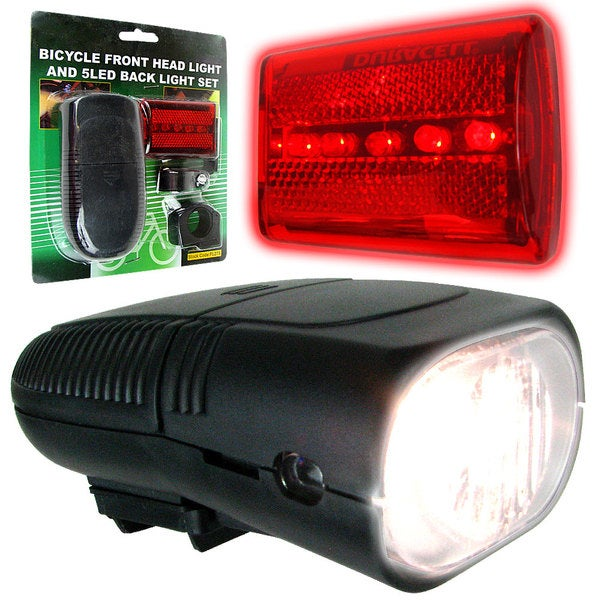 Whetstone Bicycle Headlight and Taillight Set