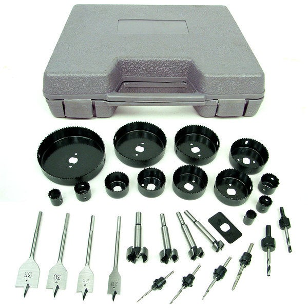 Stalwart Loaded 31-piece Hole Saw and Drill Bit Kit