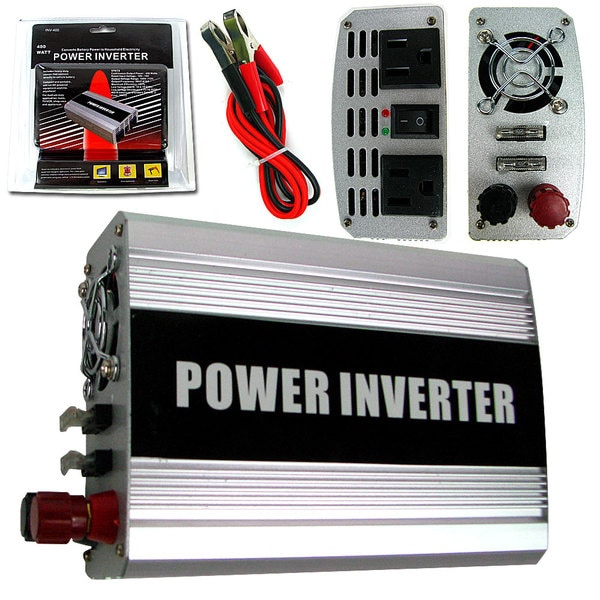 400-watt to AC Power DC Power Inverter