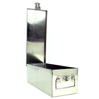 Stalwart 12-inch Oversized Metal Storage Lock Box