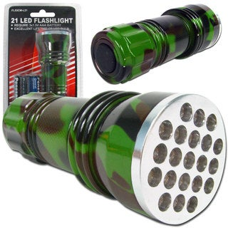 Whetstone 21 LED Camo Color Flashlight