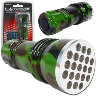 Whetstone 21 LED Camo Color Flashlight